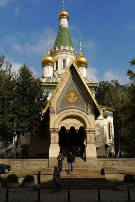 Russian style church.