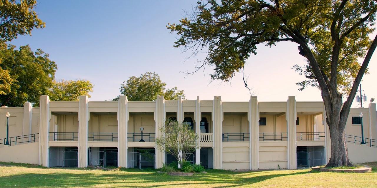 Bath House and Cultural Center, White Rock Lake, Dallas, Texas