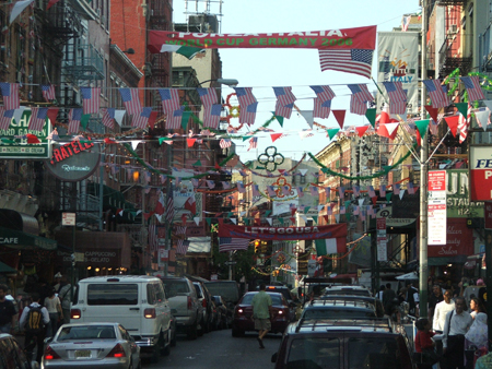 Little Italy in New York Where culture and great food