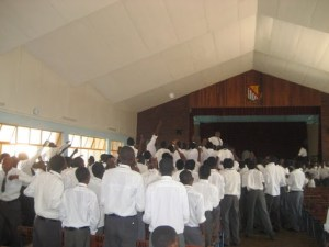 Students in the Hall