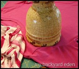 precise vase measuring template