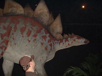 Big ole Stegosaurus.