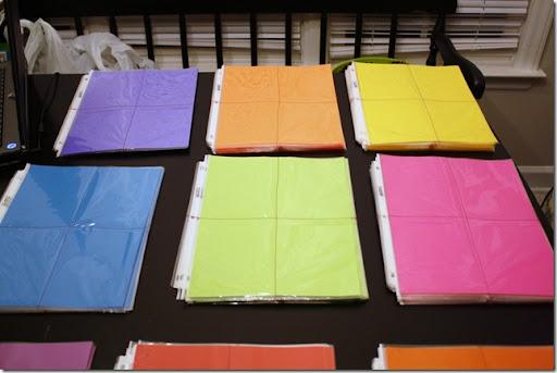 horizontal binder