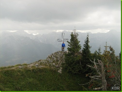 Gipfelkreuz  Spitzplaneck