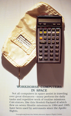 HP-41 | HP calculators and space exploration | Page 2