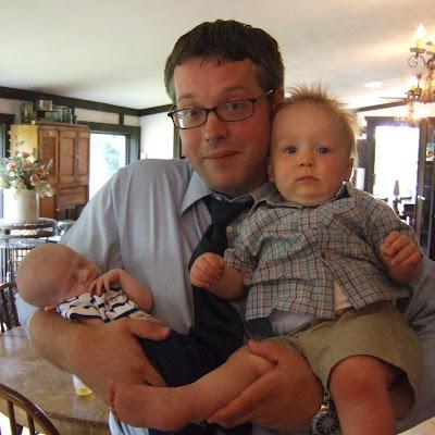 My Two Newest Nephews - Eli & David