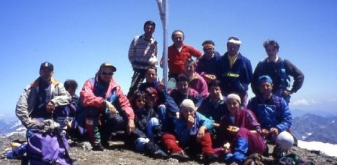 1993 - Tutti in cima al Pizzo Stella