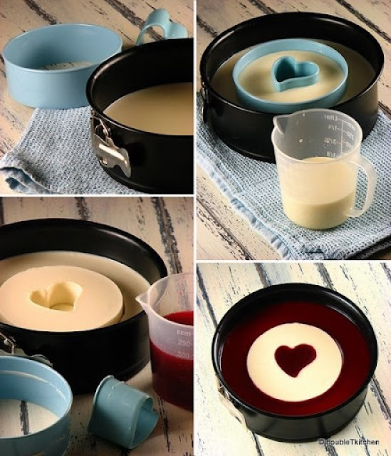 Panna Cotta in molds