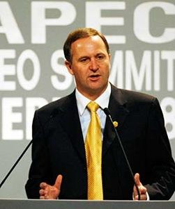 John Key, New  Zealand Prime Minister
