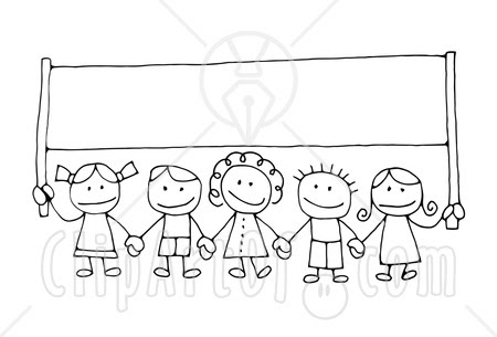 RINGGO: children holding hands coloring pages
