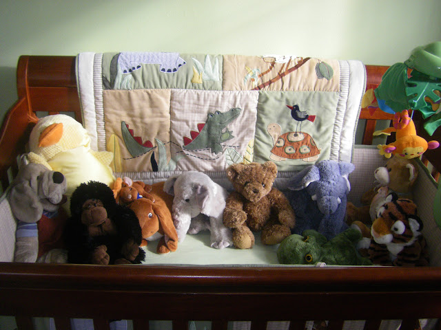 Jeremys stuffed menagerie.