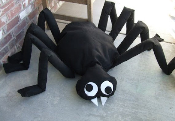 Giant Halloween Spider Tutorial Craft With Your Kids Week Project Five
