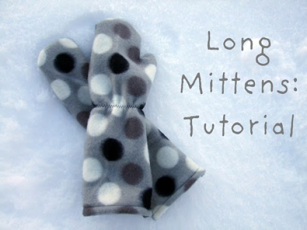long mittens