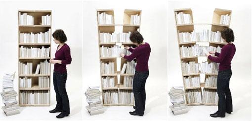 Platzhalter bookshelf