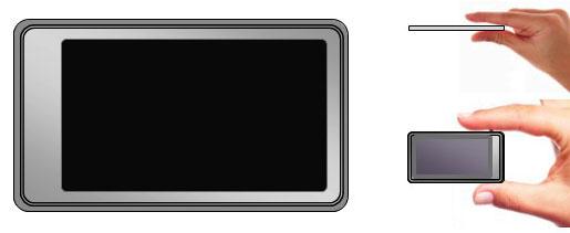 Touchscreen Walkman