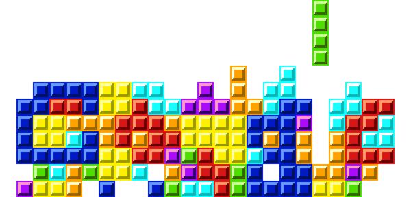 Google Tetris logo