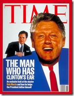 Dick Morris and Bill Clinton