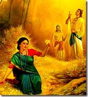 Janaka finding Sita