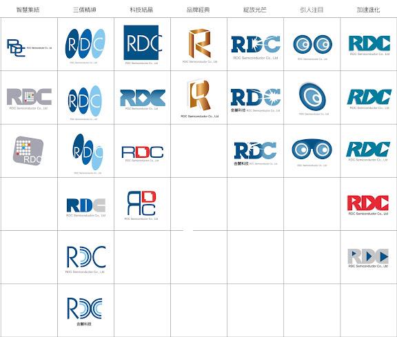 Sigiart Design Studio 豐天設計事務所: Works 企業識別系統 - RDC 金麗科技