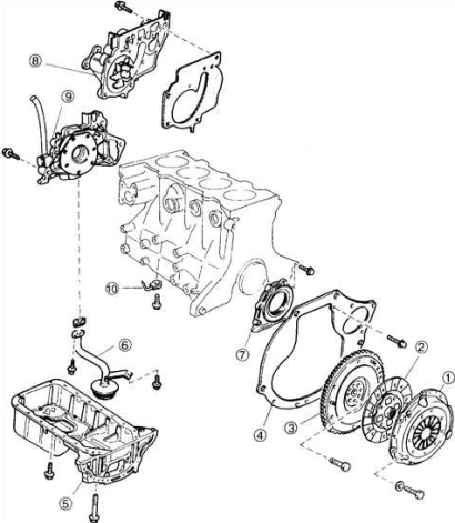 2002 Kia Spectra Alternator Belt Diagram 2002 Kia Spectra