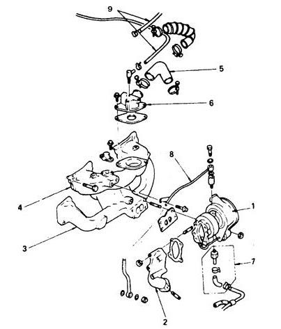 Isuzu Trooper engine diagram :: Diesel Engines :: Engine
