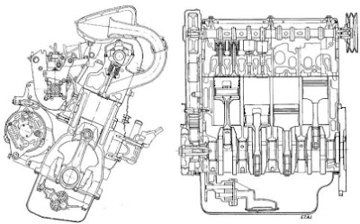 Peugeot engine diagram :: Peugeot gasoline and diesel
