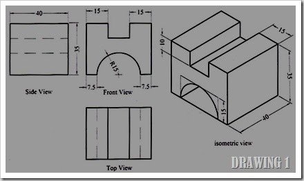 Product Design, Product development: AUTOCAD DRAWINGS