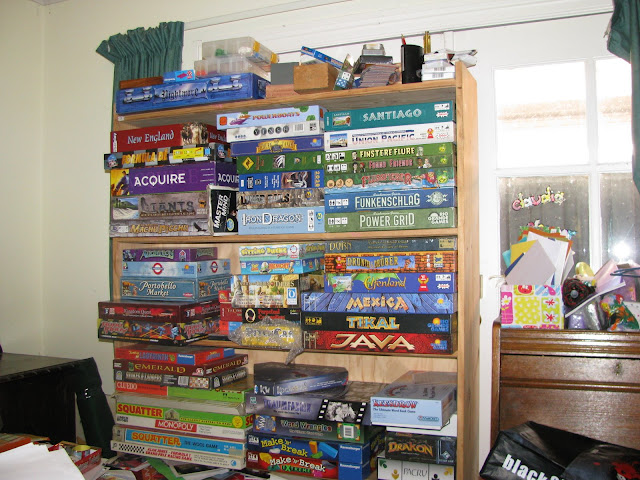 I tidied up these games too.