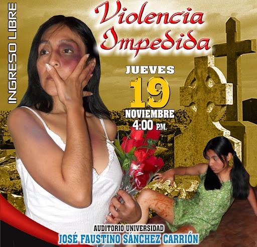 Recital de teatro Violencia Impedida