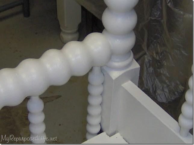 white jinny lind headboard bench
