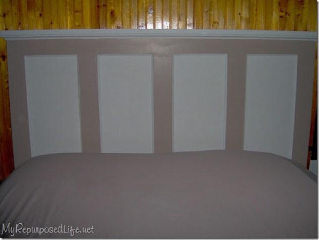 diy headboard door