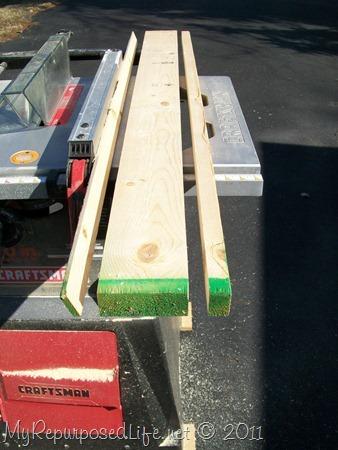 ripping lumber
