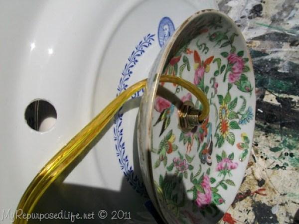 how to wire a teapot lamp MyRepurposedLife.com
