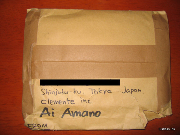 Amano Ai signed gravure DVD package