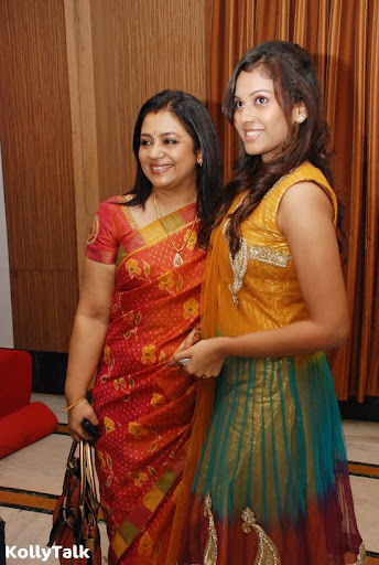 Shanthini and Poornima Bhagyaraj at Siddhu Plus 2 Press Meet