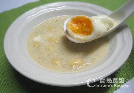 白果腐竹雞蛋薏米糖水【懷舊糖水】Dried Beancurd and Ginkgo Nuts Dessert   簡易食譜 - 基絲汀: 中西各式家常菜譜