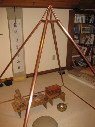 Copper Pyramid  Landrettis Art Factory