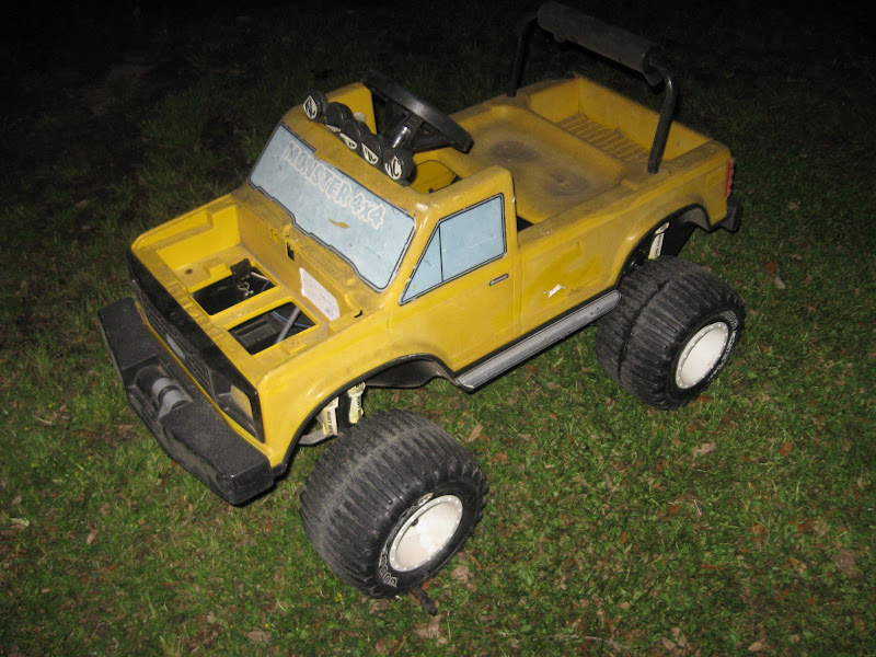 Modified Power Wheels John Deere Off Road 4x4 Gaucho