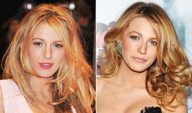 celebrity Blake Lively's Hairstyles