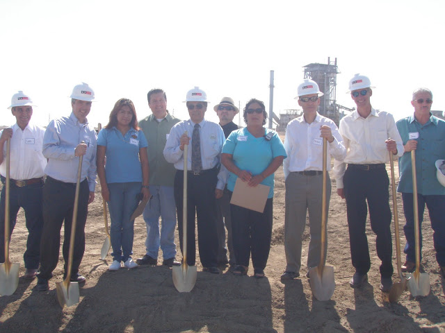 Mendota Solar Farm Ground Breakers with Comite ASMA and Valley LEAP's Rey Leon