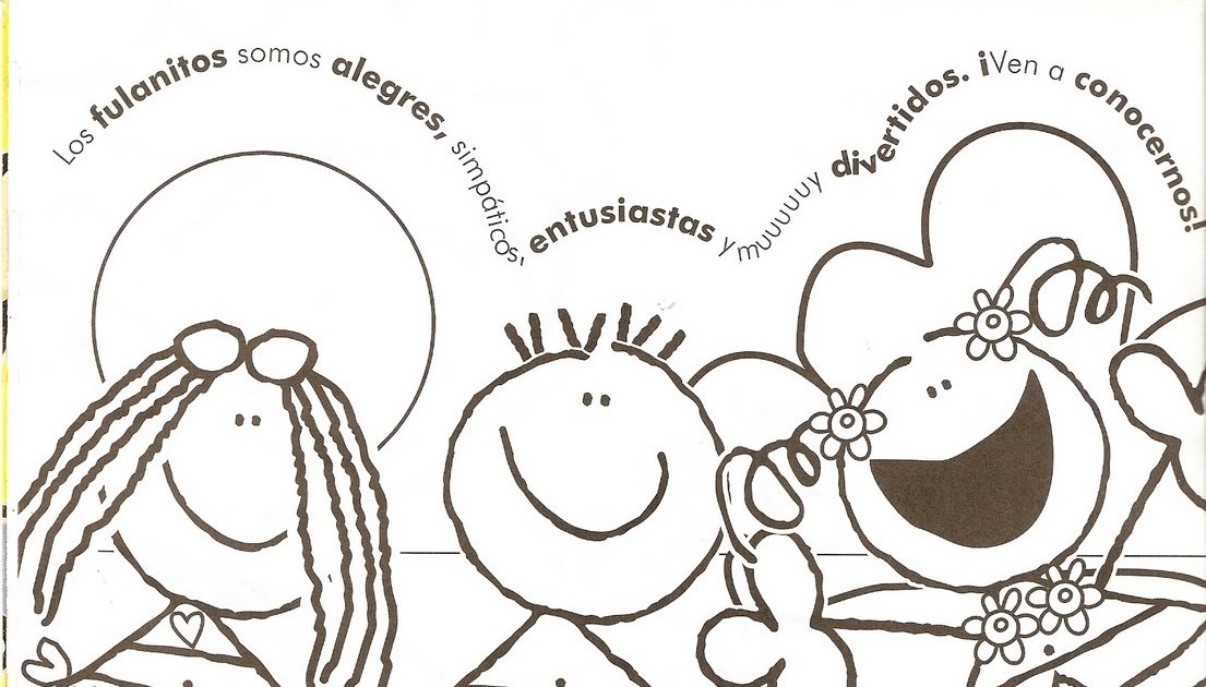 Fulanitos Coloring Pages Coloring Pages