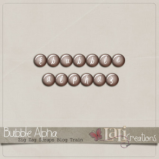 Bubble Alpha by LaLi Creations