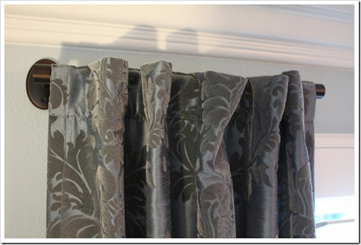 Reader Request Drapery Rod Solution A Thoughtful Place