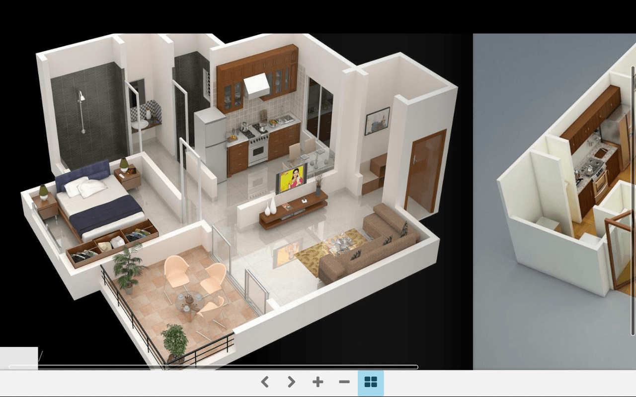 This app is a perfect solution for all your. 3d House Interior Design Plan Interior Design