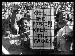 ANC SLOGAN KILL THE BOERE KILL THE FARMER