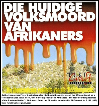 OOSTHUIZEN PIETER military analyst THE CURRENT AFRIKANER GENOCIDE