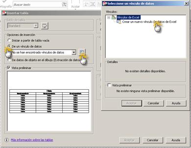 Cómo insertar una tabla de Excel en AutoCAD