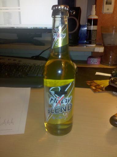 EIne Bierflasche