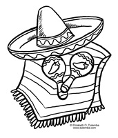 20 Printable Coloring Pages Mexican Sarape Ideas And Designs