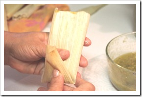 how to make tamales chicken tamales in green sauce